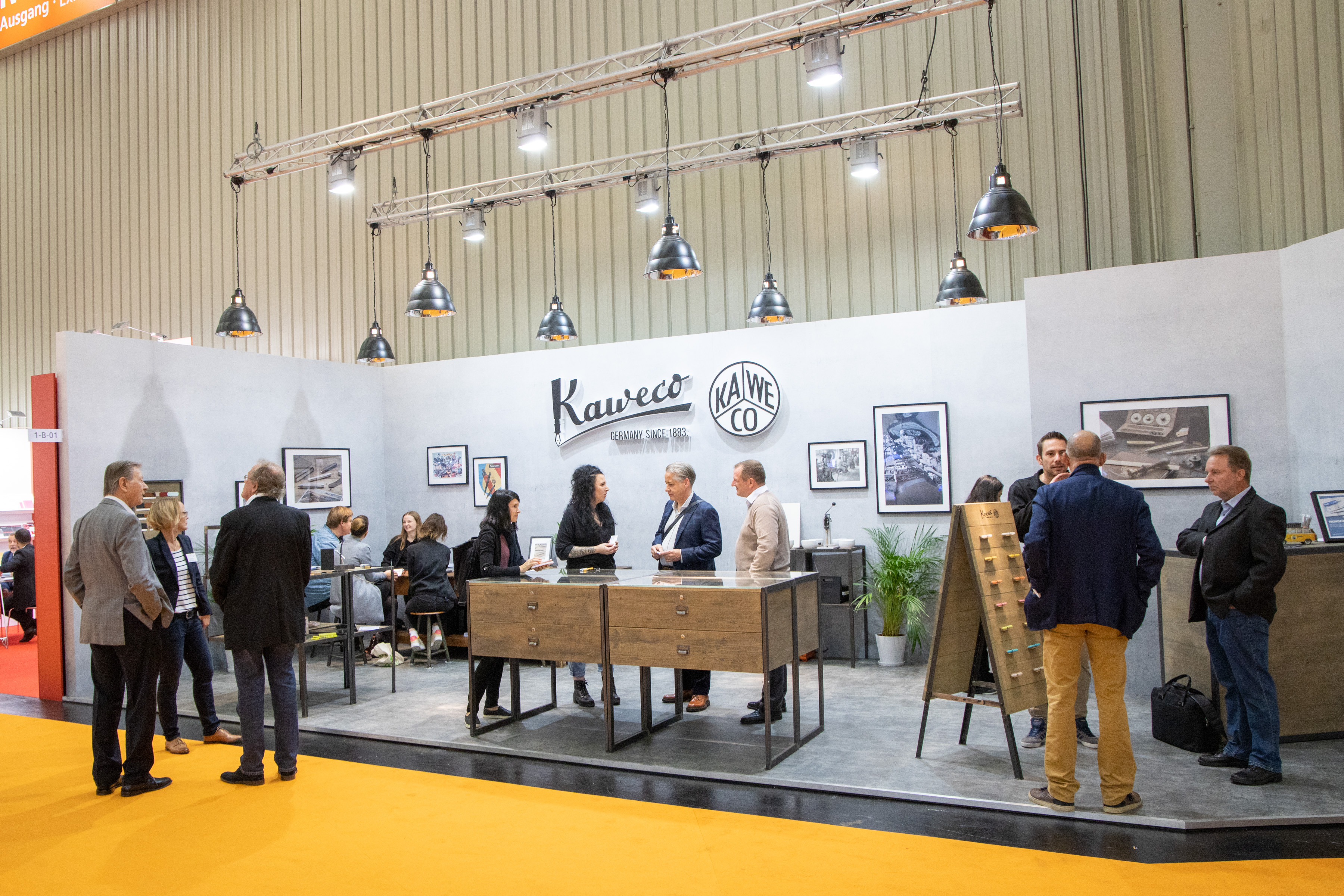 Insights-X booth Kaweco