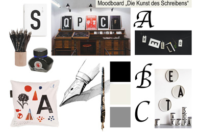 "Moodboard: ""The Art of Writing"""